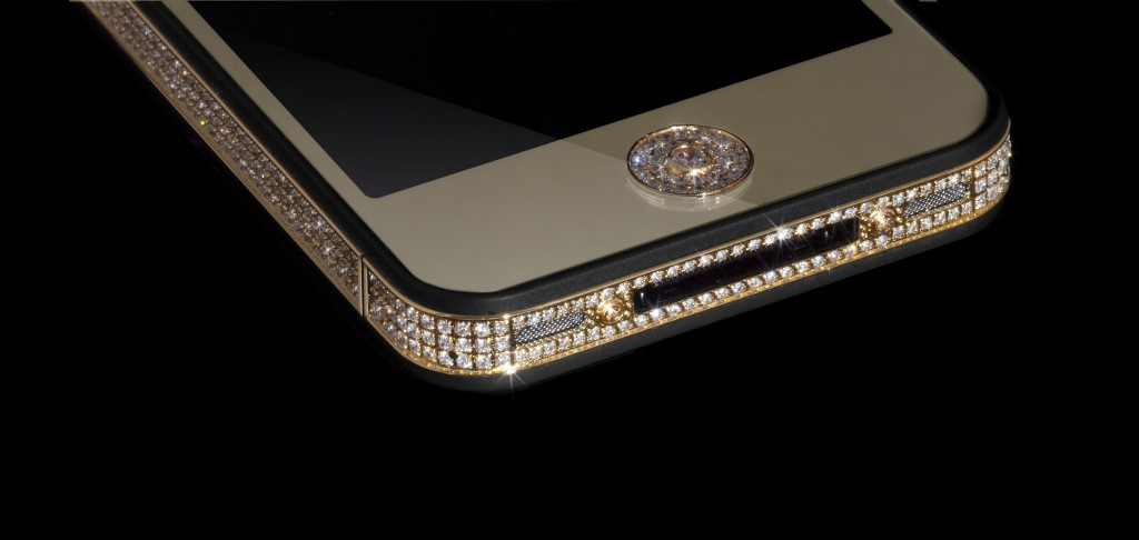 The Million Dollar iPhone button detail